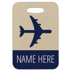 Custom Simple Travel Bag Tag