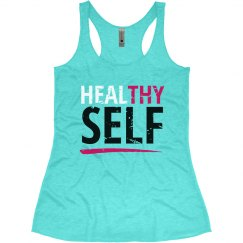 Healthy/Heal Thy Self - Blue