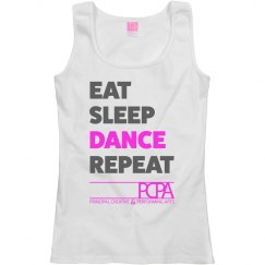 Eat, Sleep, Dance, Repeat - Adult Tank Top