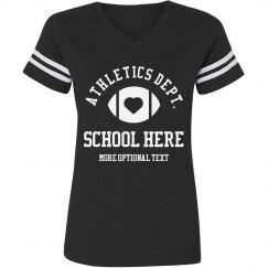 Custom College/School Football