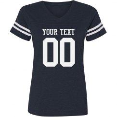 Custom Text Football Fan Gear