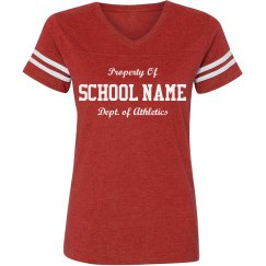 Custom Football College/High Tee