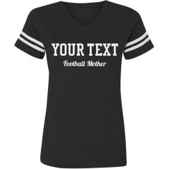 Custom Text Football Mother