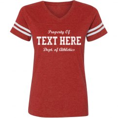 Custom Text Property Of Football