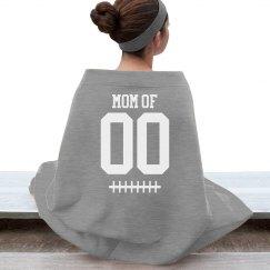 Custom Number Football Mom Team