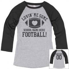 Custom Football Mom Pride Shirts