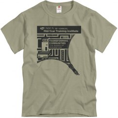 2019 Mid- Year Training Mens-T-shirt- Khaki