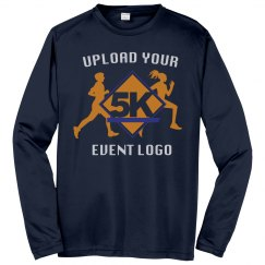 Upload Your Event Logo to a Custom Performance Tee