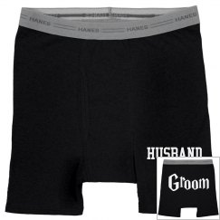 Husband Groom Underwear