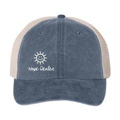 Hope Dealer Distressed Trucker Hat