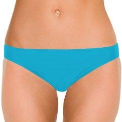 Pale Blue Bikini Bottoms