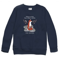 Fox Rocks Sweatshirt