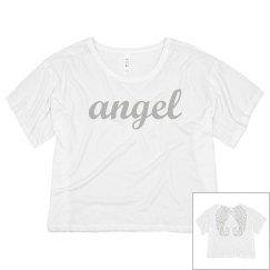 Trendy I'm An Angel Wings