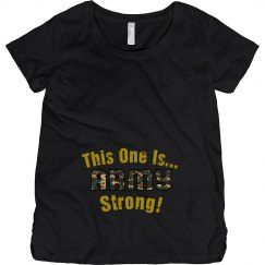 Army Strong Maternity Tee