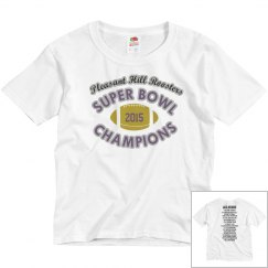 Youth Super Bowl Champion