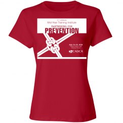 17th Annual Mid-Year Ladies T-Shirt- Red