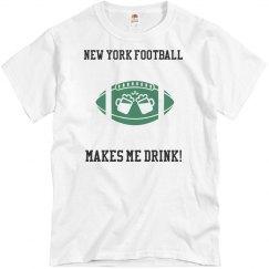 Green New York Football