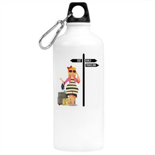 FGT Blonde Aluminum Water Bottle