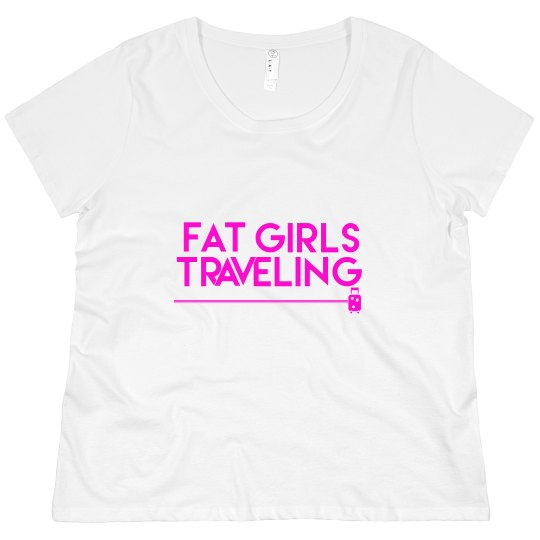 FGT Pink Luggage Crew Neck