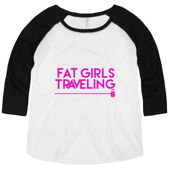 FGT Pink Luggage Raglan