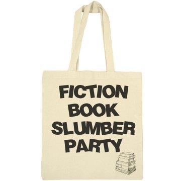 Fiction book slumber party bag