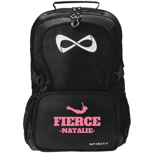 Fierce Cheer Fan Nfinity Backpack With Custom Name