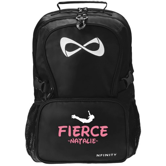 Fierce Cheerleader Black Nfinity Backpack