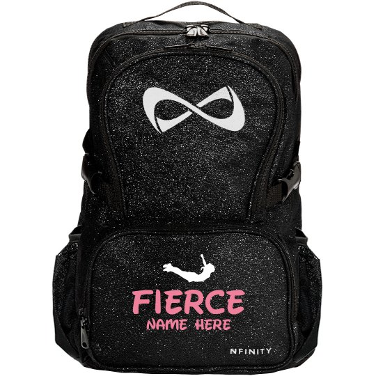 Fierce Cheerleader Custom Nfinity Sparkle Cheer Bag