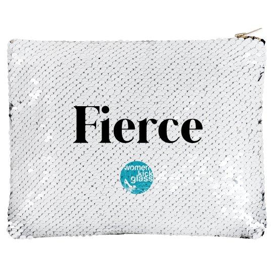 Fierce makeup bag