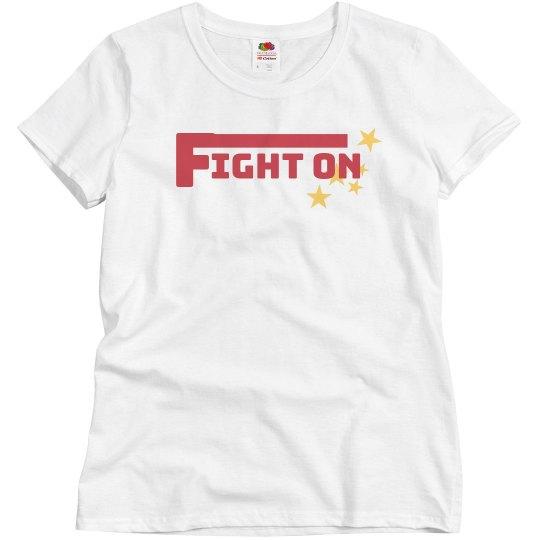 fight on tshirt