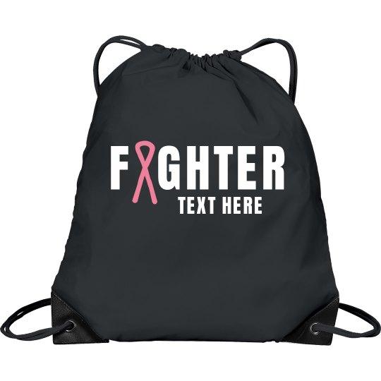 Fighter Custom Drawstring Bag