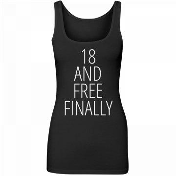 Finally Free Birthday