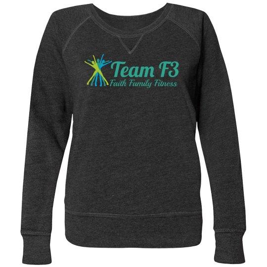 First Cozy team sweatshirt