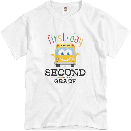 First Day Second Grade (Teacher)