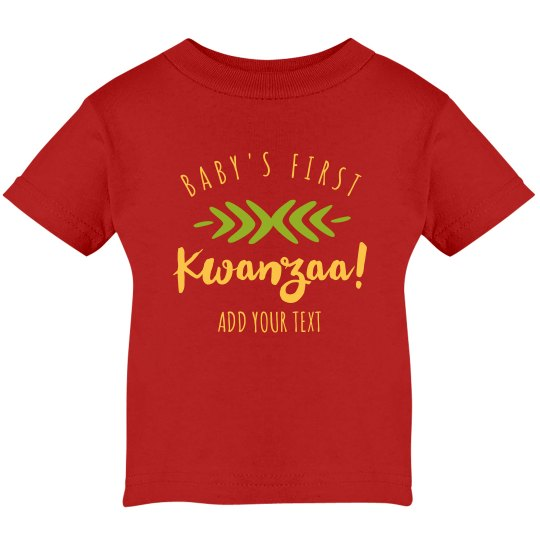 First Kwanzaa Custom Infant Top