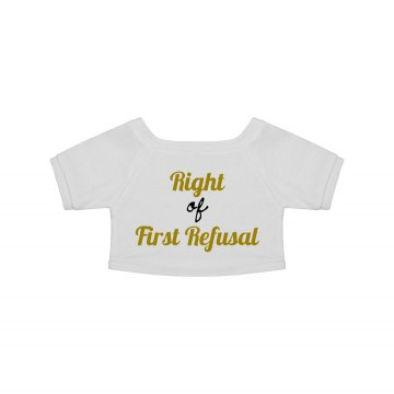 """First Refusal"" Plush Tee"