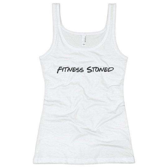 Fitness Stoned slim fit tank