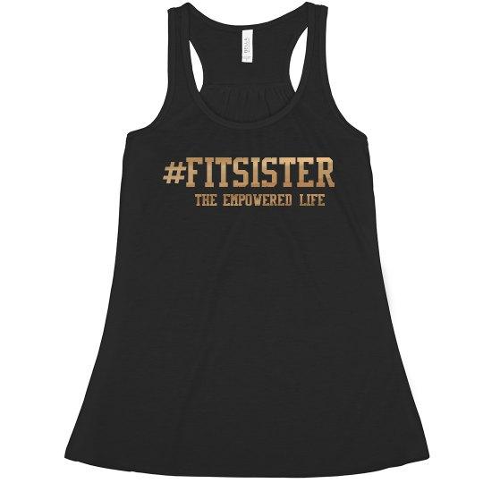 #FITSISTER racer back tank