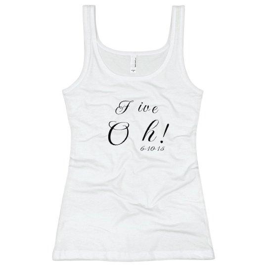 FiveOh! 50th Bday T-Shirt