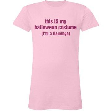 Flamingo for Halloween