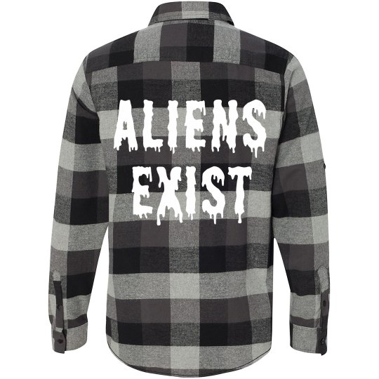 Flannel Aliens Exist