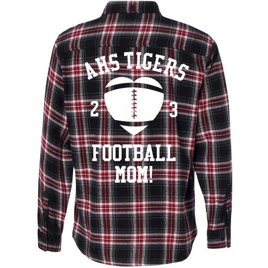 Flannel Football Mom