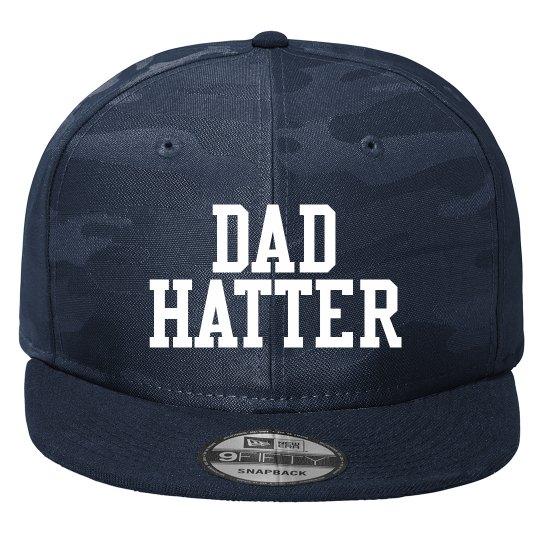 Flat bill Dad Hatter