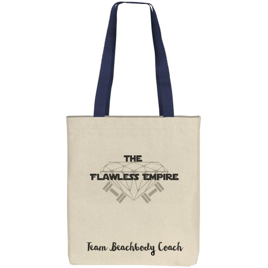 Flawless Canvas Tote