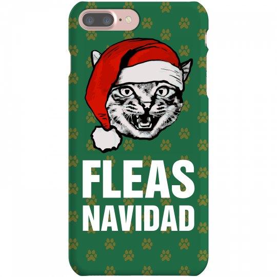 Fleas Navidad Funny Christmas Cat