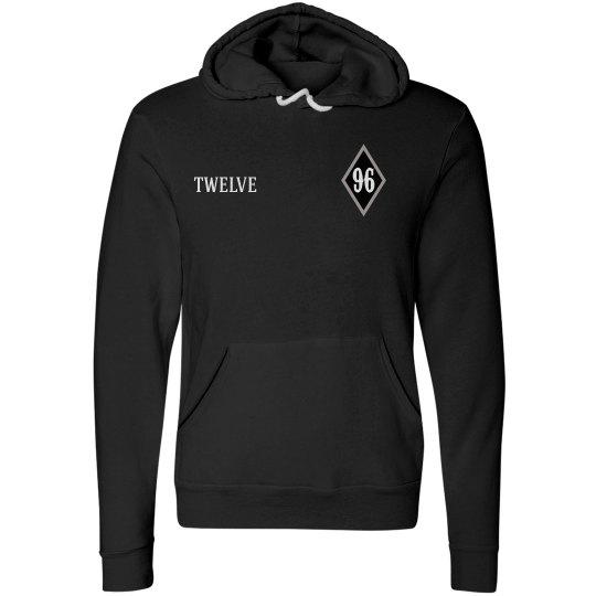 fleece hoodie with name