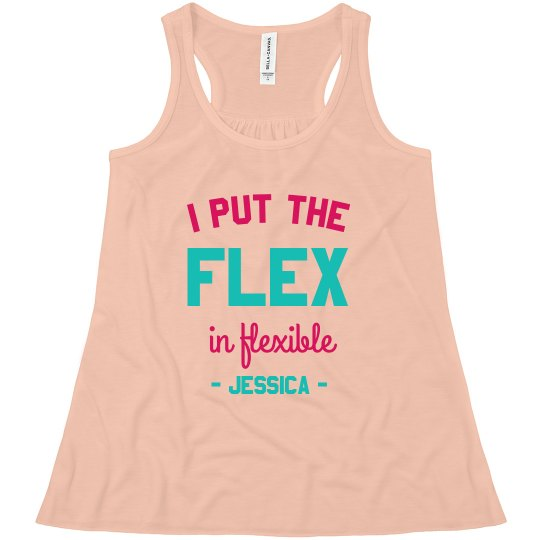 Flex in Flexible Custom Gymnast