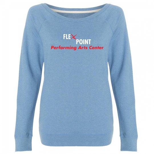 Flex Point Company 2018 Off-Shoulder Sweatshirt