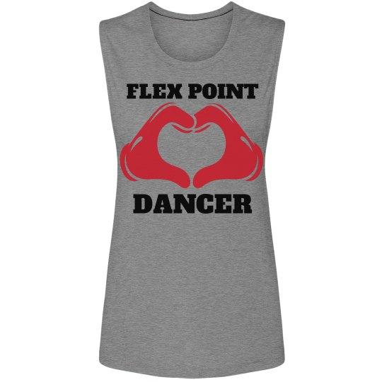 Flex Point Dancer Muscle Tee