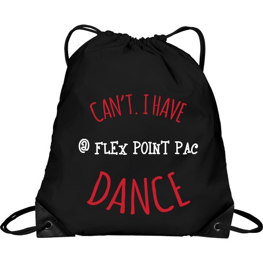 Flex Point Drawstring Bag